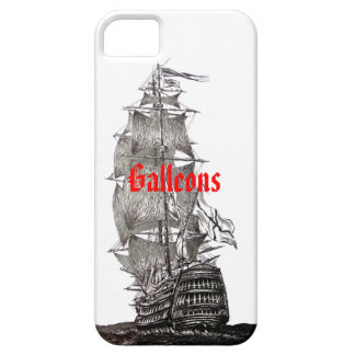 Galleon Pen and Ink Drawing iPhone 5 cover