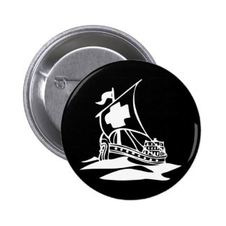 Galleon Pinback Buttons