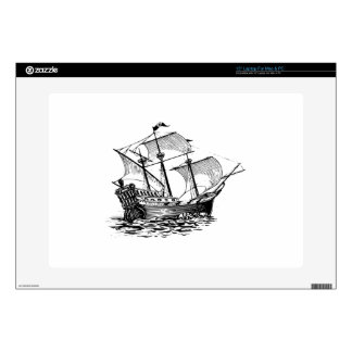 Galleon Ship Laptop Skins