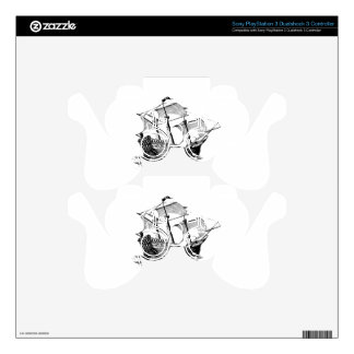 Galleon Ship PS3 Controller Skins