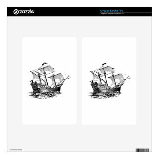 Galleon Ship Skins For Kindle Fire