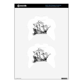 Galleon Ship Xbox 360 Controller Skin