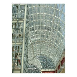 Galleria en luz del sol postal