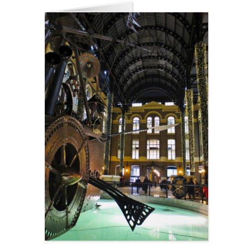 Galleria Londres del heno Tarjeta De Felicitación