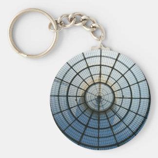 Galleria Vittorio Emanuele Basic Round Button Keychain