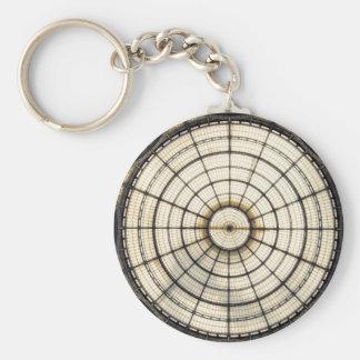Galleria Vittorio Emanuele II Basic Round Button Keychain