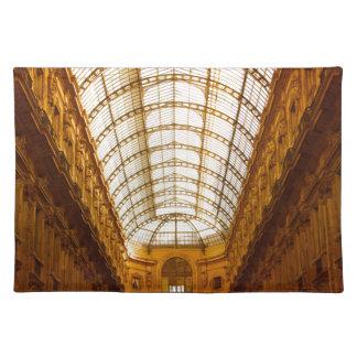 Galleria Vittorio Emanuele II In Milan Placemat
