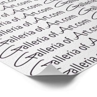"""GalleriaofArt.com ~ Gift Wrapping Paper 13.25"""" Poster"""