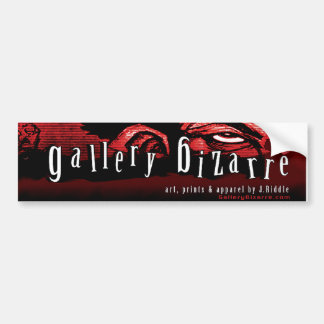 Gallery Bizarre Bumper Sticker