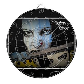'Gallery Ghost' Dart Board