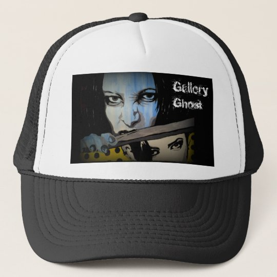 'Gallery Ghost' Trucker Hat