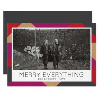 Gallery Holiday Photo Card