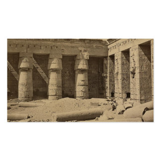 Gallery in second court of Thutmose I at Medinet Business Card