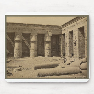 Gallery in second court of Thutmose I at Medinet Mouse Pad