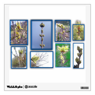 Gallery. lilac wall decal
