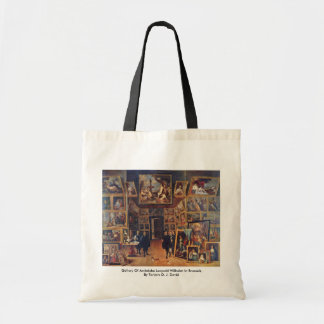 Gallery Of Archduke Leopold Wilhelm In Brussels Canvas Bags
