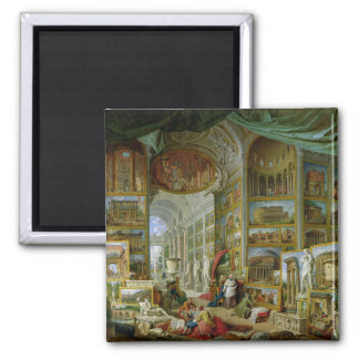 Gallery of Views of Ancient Rome, 1758 2 Inch Square Magnet