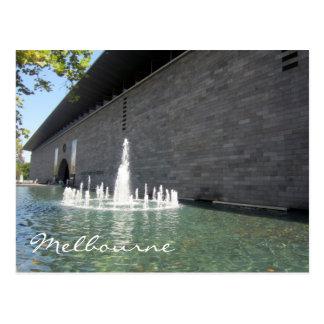 gallery victoria fountain postcard
