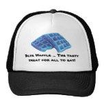 Galleta azul - invitación sabrosa gorras de camionero