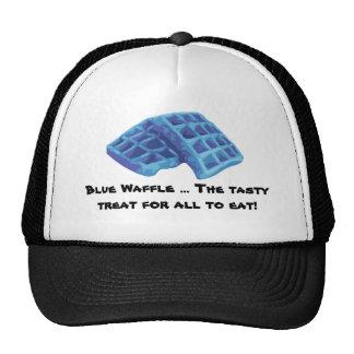 Galleta azul - invitación sabrosa gorras