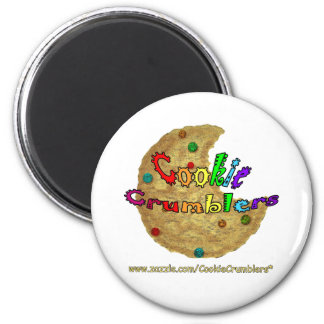 Galleta Crumblers Imán Redondo 5 Cm