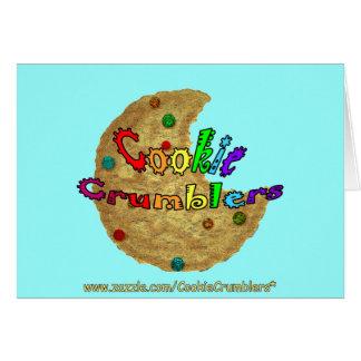 Galleta Crumblers Tarjeta De Felicitación