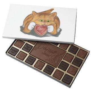 Galleta de la tarjeta del día de San Valentín para