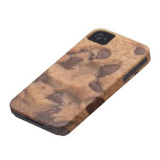 Galleta de microprocesador de chocolate iPhone 4 Case-Mate carcasas