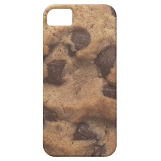 Galleta de microprocesador de chocolate iPhone 5 funda