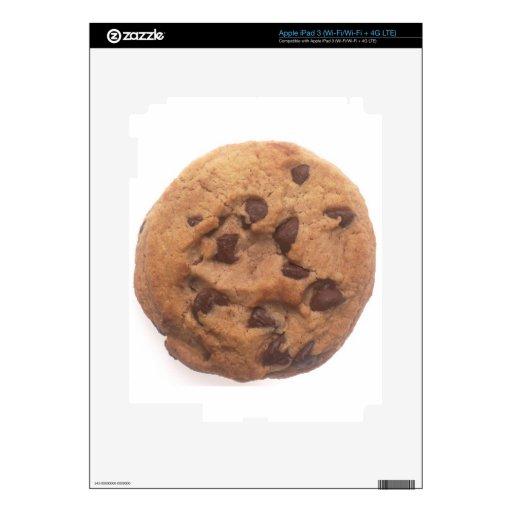 Galleta de microprocesador de chocolate iPad 3 skins