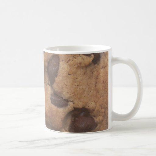 Galleta de microprocesador de chocolate taza
