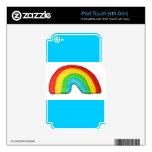 Galleta del arco iris iPod touch 4G calcomanías