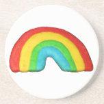 Galleta del arco iris posavasos personalizados
