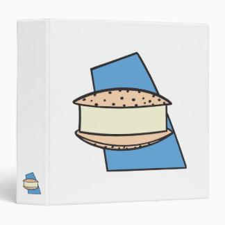 """galleta del bocadillo del helado del microprocesad carpeta 1 1/2"""""""