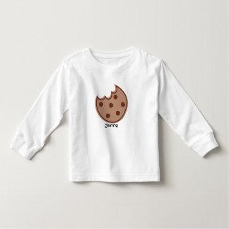 Galleta del chocolate con la camiseta de los