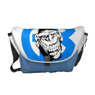 Galleta del gorila bolsas de mensajeria