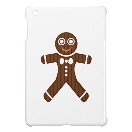 Galleta del hombre de pan de jengibre iPad mini carcasa