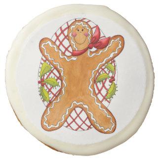 Galleta del hombre de pan de jengibre una docena
