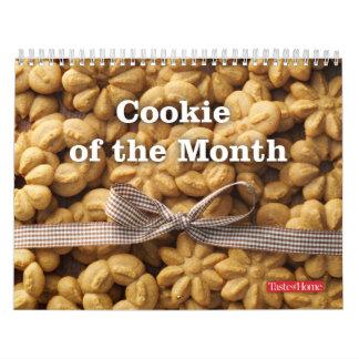 Galleta del mes calendarios