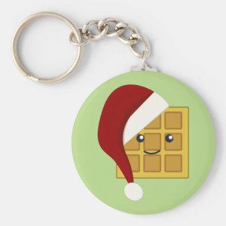 Galleta del navidad llavero redondo tipo pin