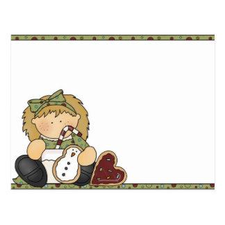 Galleta del navidad postales