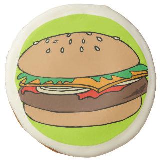 Galleta del personalizado de la hamburguesa
