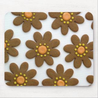 Galleta Mousepad de la flor