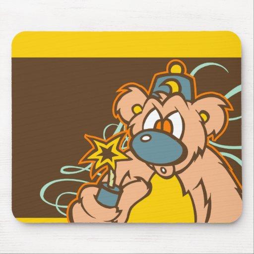 Galleta Mousepad del fuego Alfombrilla De Ratones