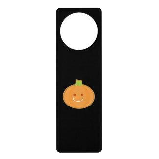 Galleta sonriente de la calabaza de Halloween Colgantes Para Puertas