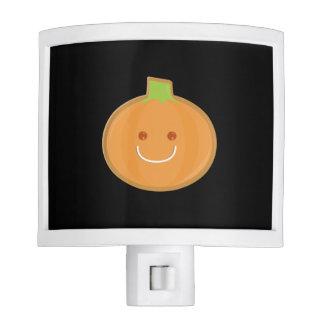 Galleta sonriente de la calabaza de Halloween