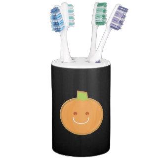 Galleta sonriente de la calabaza de Halloween Conjuntos De Baño
