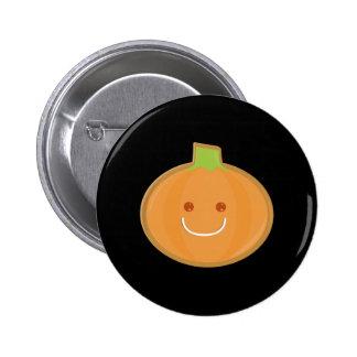 Galleta sonriente de la calabaza de Halloween Pin