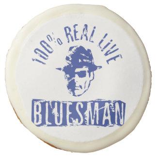 Galleta viva real del Bluesman