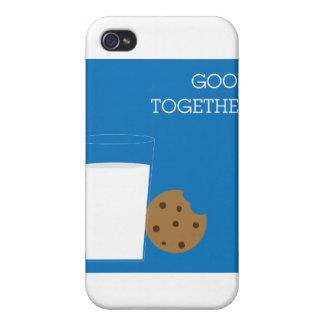 Galleta y leche de LMD iPhone 4/4S Funda